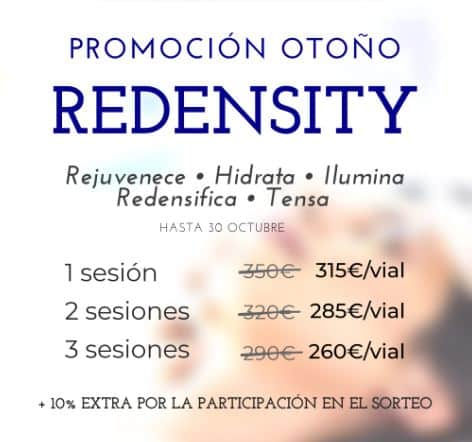 redensity